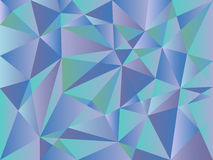 Abstract Triangle Geometrical Background Stock Image