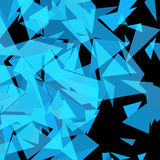 Abstract Triangle Geometrical Background. Vector Illustration Royalty Free Stock Image