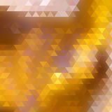 Abstract Triangle Geometrical Multicolored. Stock Photo