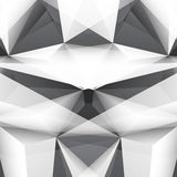 Abstract Triangle Geometrical Multicolored Background Stock Photo