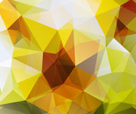 Abstract Triangle Geometrical Multicolored Background Royalty Free Stock Photos