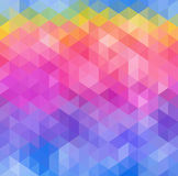 Abstract Triangle Geometrical Multicolored Background, Vector Illustration EPS10 Stock Images