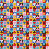 Abstract Triangle Geometrical seamless background. Royalty Free Stock Images
