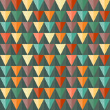Abstract Triangle Geometrical seamless background. Royalty Free Stock Image