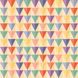 Abstract Triangle Geometrical seamless background Stock Images