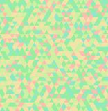 Abstract Triangle Geometrical Seamless Summer Background Royalty Free Stock Photography
