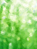 Abstract triangle green texture Royalty Free Stock Images