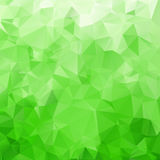 Abstract triangle green texture Stock Images