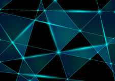 Abstract Triangle Mesh Royalty Free Stock Images