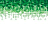 Abstract triangle mosaic green background design Stock Images