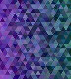 Abstract triangle mosaic tile background Royalty Free Stock Photo