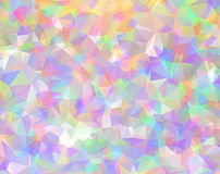 Abstract triangle multicolored texture Royalty Free Stock Photography