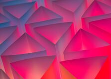 Abstract triangle paper background
