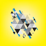 Abstract triangle pattern background Royalty Free Stock Image