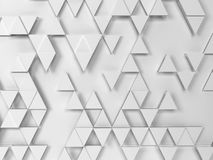 Abstract triangle pattern. 3d background Royalty Free Stock Photo