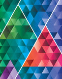 Abstract triangle pattern geometric modern backgro Royalty Free Stock Photos