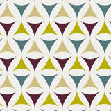 Abstract triangle pattern. Including seamless sample in swatch panel Royalty Free Stock Photography