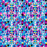 Abstract triangle pattern Royalty Free Stock Photos