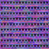 Abstract triangle pattern pink cyan lilac blue Stock Photography