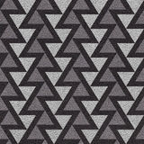 Abstract triangle pattern - seamless background - leather textur Royalty Free Stock Image