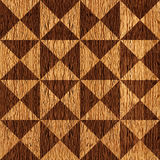 Abstract triangle pattern - seamless background - wooden pattern Royalty Free Stock Photo