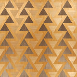 Abstract triangle pattern - seamless background - wooden pattern Royalty Free Stock Photography