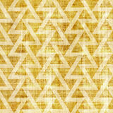 Abstract triangle pattern - seamless pattern - papyrus texture Stock Photo