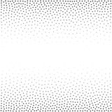 Abstract triangle pattern.Vector background. Repetitive dotted geometric texture.Ordered triangles with dots on edges.  royalty free illustration