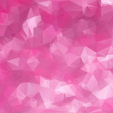 Abstract triangle pink texture Stock Images