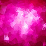 Abstract triangle pink texture Royalty Free Stock Photo