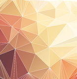 Abstract triangle polygonal background Royalty Free Stock Images