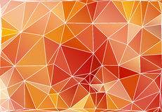 Abstract triangle polygonal background Royalty Free Stock Photo