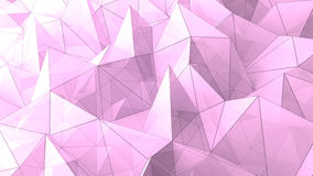 Abstract triangle pyramids geometric background Royalty Free Stock Photos