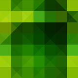 Abstract triangle and rectangle shape color mosaic background Stock Image