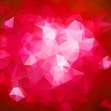 Abstract triangle red texture Royalty Free Stock Images