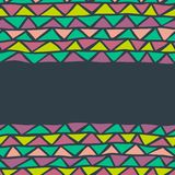 Abstract triangle seamless background. This is file of EPS8 format Royalty Free Stock Photography