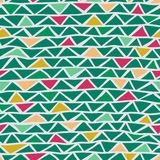 Abstract triangle seamless pattern. This is file of EPS8 format Royalty Free Stock Photo