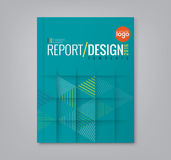 Abstract triangle shapes background for business annual report book cover vector illustration