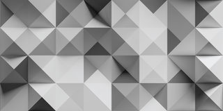Abstract triangle and square Stock Photo
