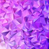 Abstract triangle tile mosaic background - vector design from triangles in purple tones. Abstract triangle tile mosaic background - vector graphic design from royalty free illustration