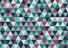 Abstract triangle vector background in grey brown color | print and web graphic design | modern style artwork Stock Photos