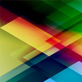 Abstract triangle vector background for Your Text. Abstract triangle colorful vector background. Broshure design Stock Image