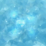 Abstract Triangle  Vector Water Background Stock Photo