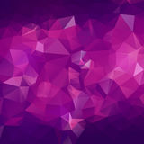 Abstract triangle violet texture Stock Images