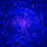 Abstract triangle blue texture Royalty Free Stock Photography