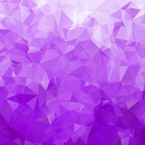Abstract triangle violet texture Stock Image