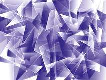 Abstract triangles Stock Photography