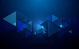 Free Abstract Triangles And Futuristic Technology Concept Background Stock Photo - 98281490