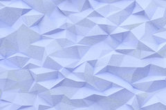 Abstract triangles background. Abstract blue color triangles background, 3d render illustration Stock Images