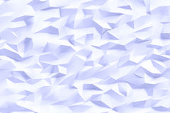 Abstract triangles background. Abstract blue color triangles background, 3d render illustration Royalty Free Stock Photos